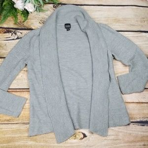 Eileen Fisher Italian Yarn Open Cardigan Sweater